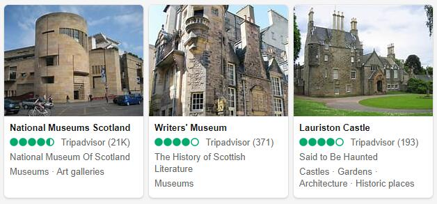 Edinburgh Attractions 2