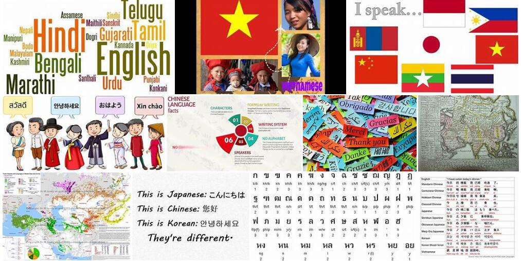 Language of Asia